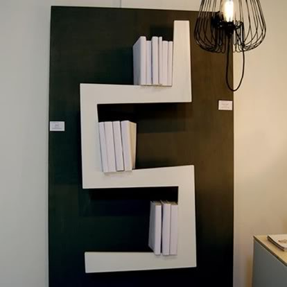 Книгохранилище - идеи для книг в интерьере.