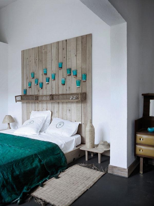 Гениальные спальни - спинки кроватей.