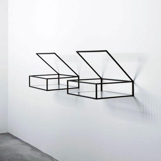 Идеи моделей креативных и оригинальных декоративных полок.