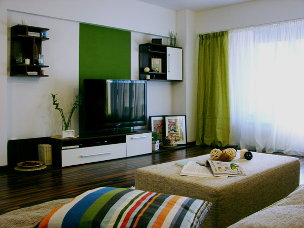 Однокомнатная квартира для молодой семьи.