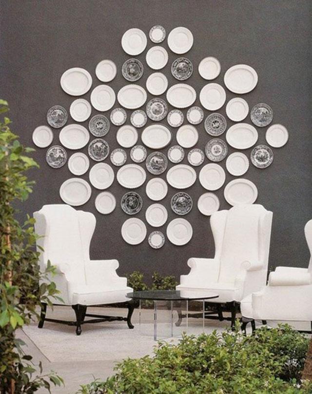 Идеи декорирования стен дома.