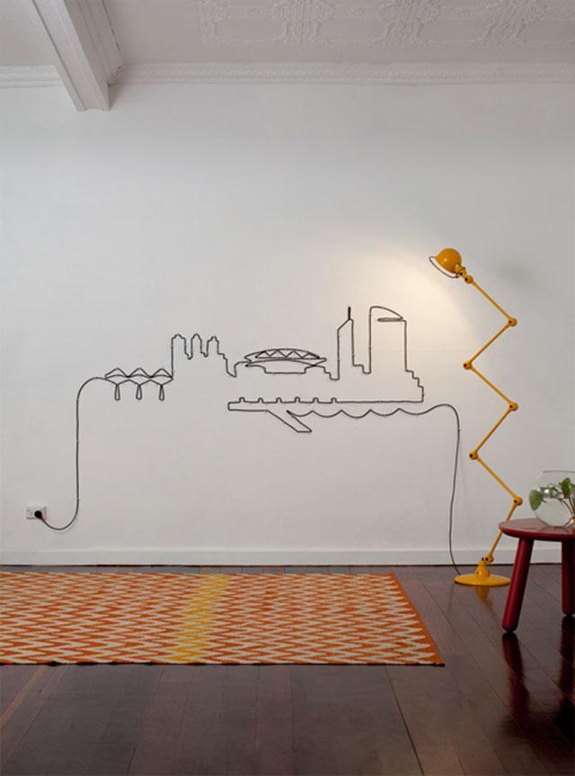 Идеи декорирования стен жилища.