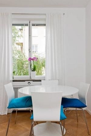 Бирюзовый цвет в интерьере - идеи, примеры и советы в фотографиях.