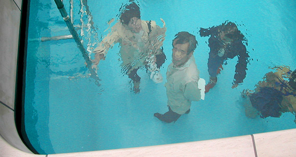 Дизайнерский проект ложного бассейна
