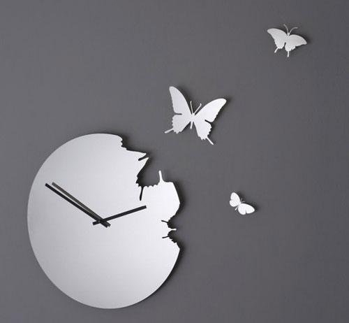 Часы - втемя как бабочки
