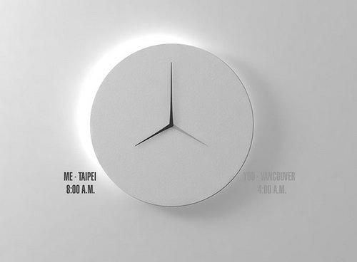 Часы с часовыми поясами
