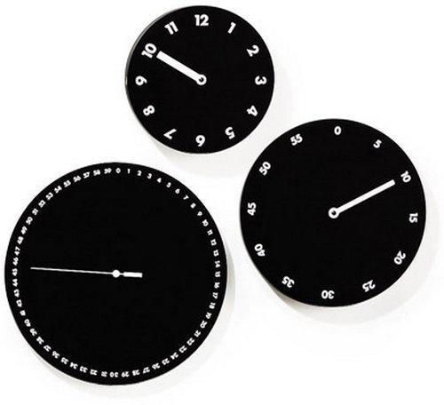 Идеи часов от дизайнеров – настенные и настольные часы