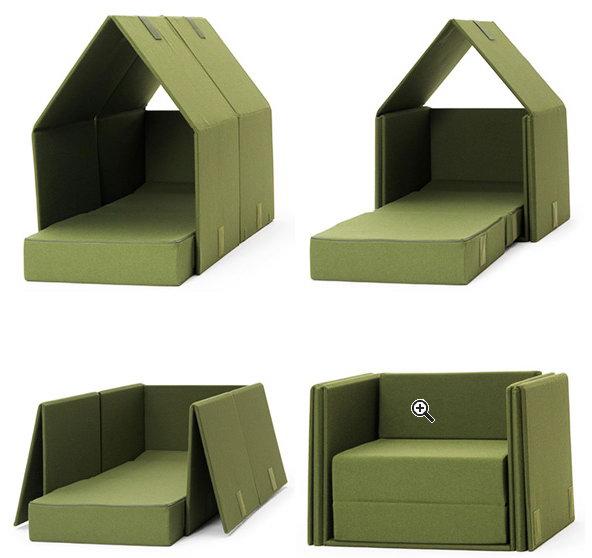 Диван, который кресло, кровать и палатка – удобство уединенного отдыха