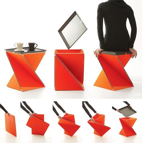 Стульчик - оригами