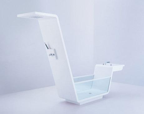 Футуристичная ванная