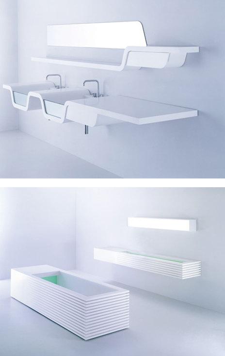Формы для ванн и раковин, акриловый камень и стекло