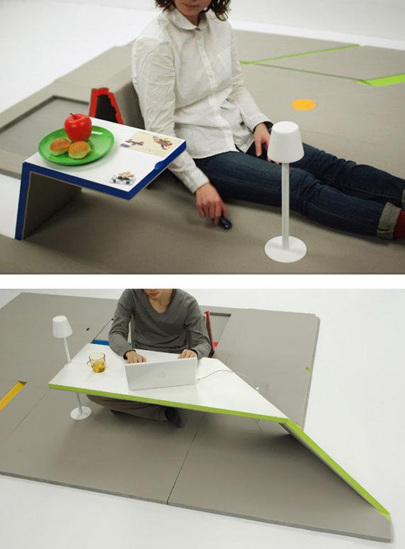 Напольное покрытие для создания мебели