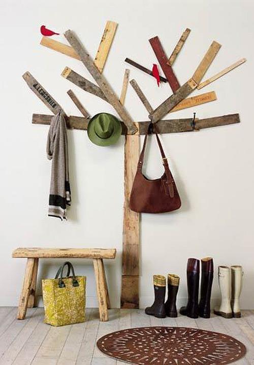 Дерево в оформлении интерьера детской комнаты