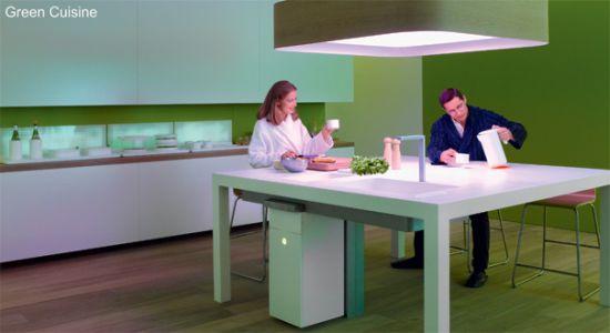 Кухня нового поколения с бытовой техникой Philips