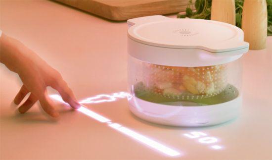 Кухня нового поколения с бытовой техникой