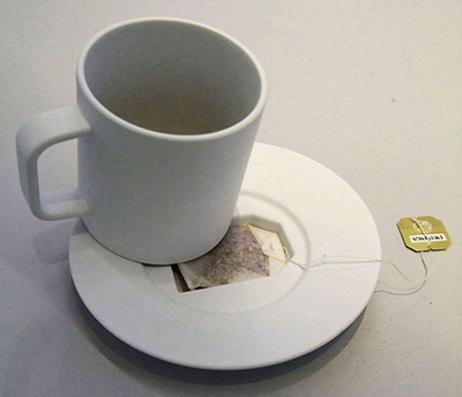 Похорони пакетик от чая