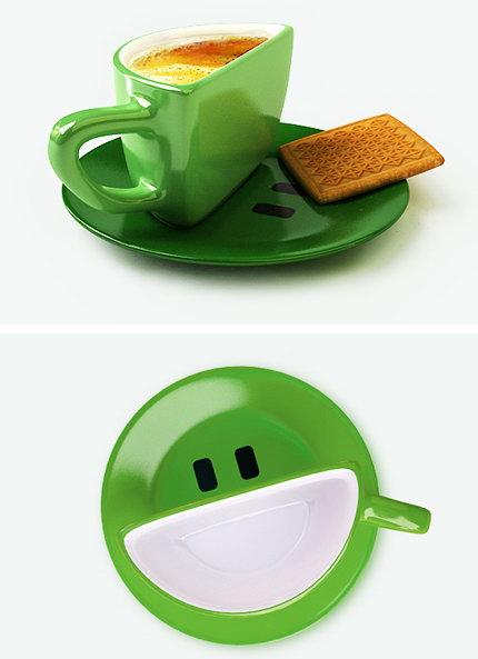 Чашка с улыбкой