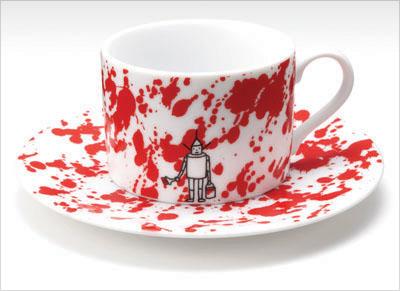 Чашка «Веселый маляр