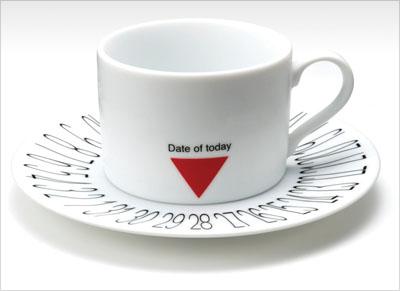 Чашка с датой