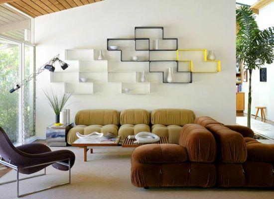 Дом в стиле ретро-модерн