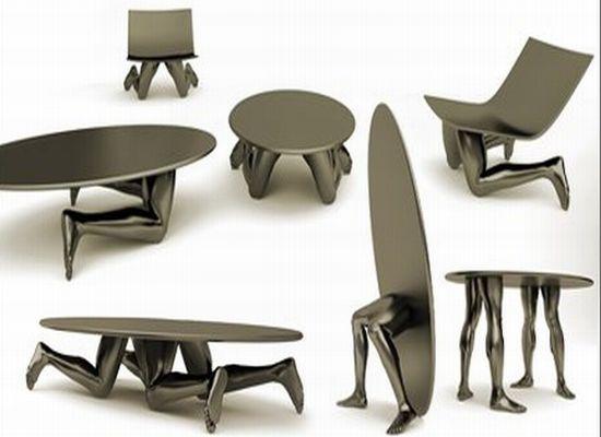 Мебель от Родена и Дали