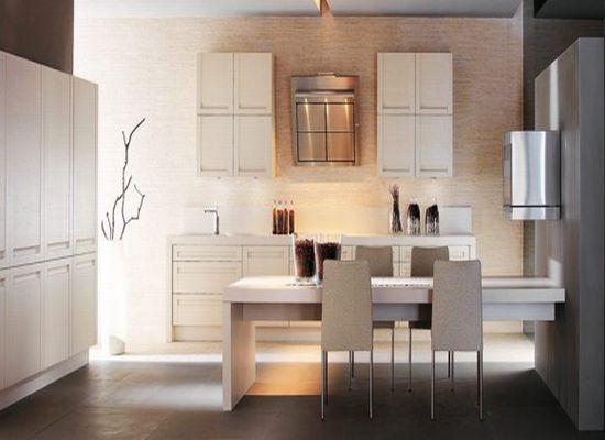 Как оформить интерьер кухни в коричневых тонах и оттенках