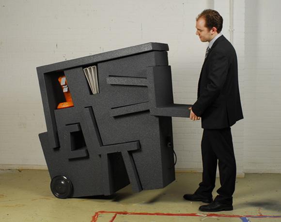 Портативный передвижной офис – набор мебели