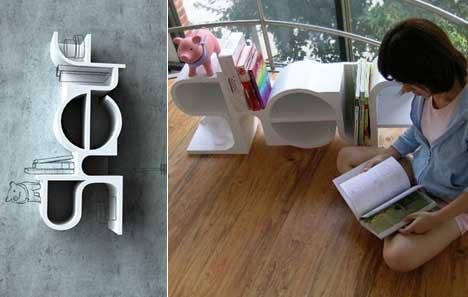 30 идей креативных и удобных стелажей и полок