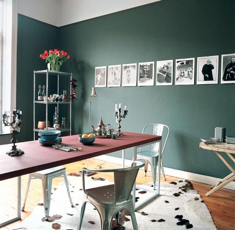 Фотоальбом в интерьере - как украсить стены фотографиями