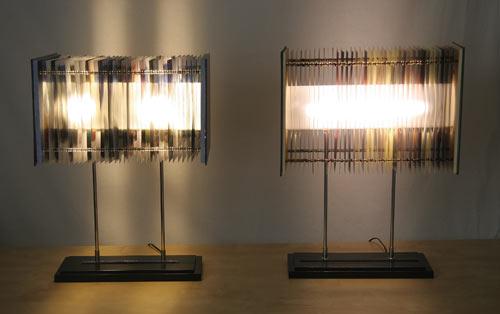 Лампа в книгах