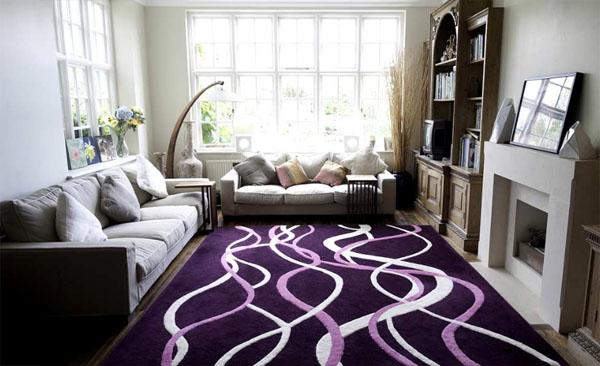 Яркие идеи дизайна ковров