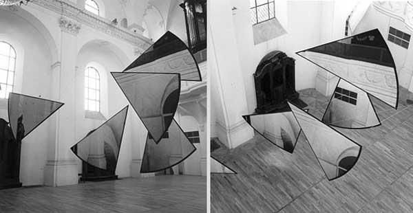 Иллюзия в интерьере - Анаморфирование – преобразование пространства.
