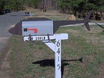 Почтовые ящики как предмет культа.
