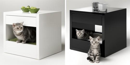 Домик для кошки из дсп