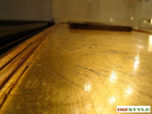 Золотая паталь (поталь)