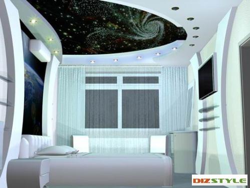 Квартира в совеременном стиле. Спальня