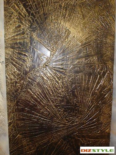 Ракушки в золотом отливе