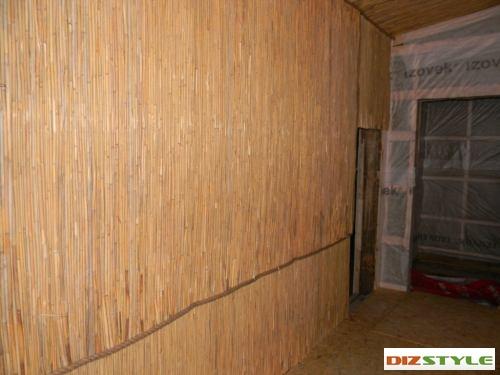 веранда тростниковым полотном