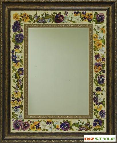 Зеркало Анютины глазки