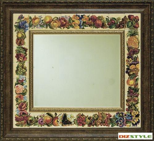 Зеркало Фрукты и цветы