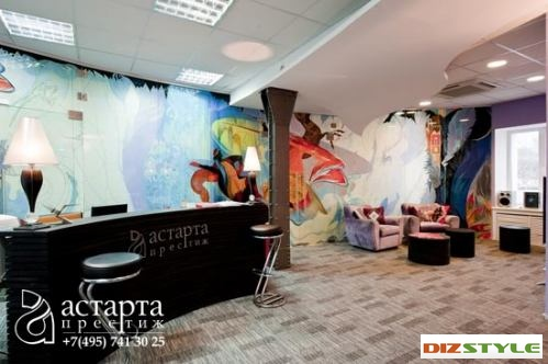 Офис в русском стиле – новый тренд интерьерной моды