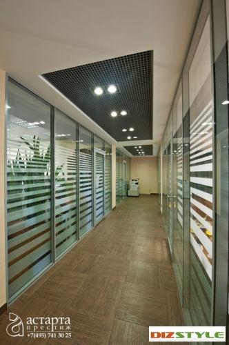 Офисные перегородки в бизнес-центре «Мельницкая Слобода»