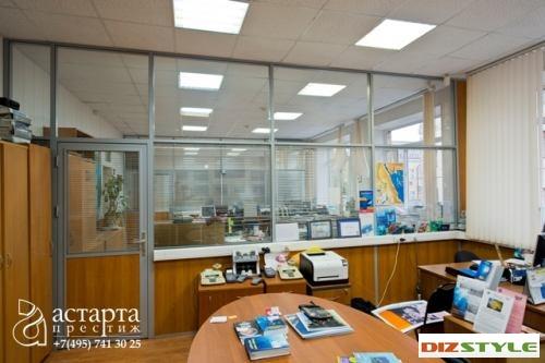 Офисные перегородки в Дайв-центре