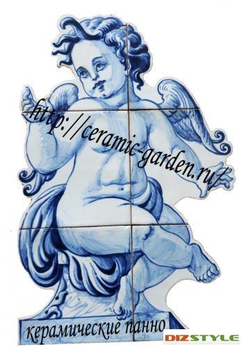 керамические панно ангел